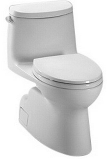 toto aquia dual flush elongated twopiece toilet - Toto Aquia