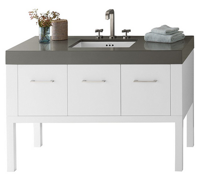 top rated single bathroom vanity sinks