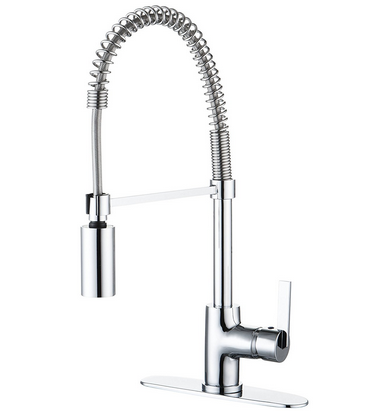 enzo rodi modern commercial spring pulldown sprayer kitchen faucet