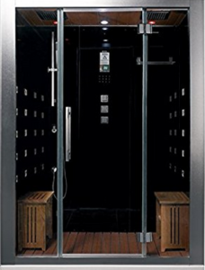 ARIEL BATH DZ972F8 Black Steam Shower