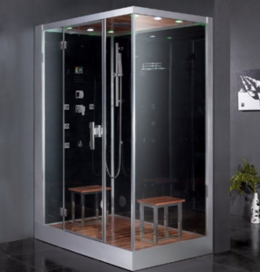Ordinaire Modular Steam Showers Are Great For Those Who Want To Save Space And Save  Time On Installation, Which Is Why This Ariel Platinum DZ961F8 BLK L Steam  Shower ...