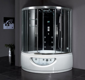 Ariel makes some of the top steam showers for residential use on the market  today like this Platinum DA333F8 Steam Shower with Whirlpool Bathtub, ...