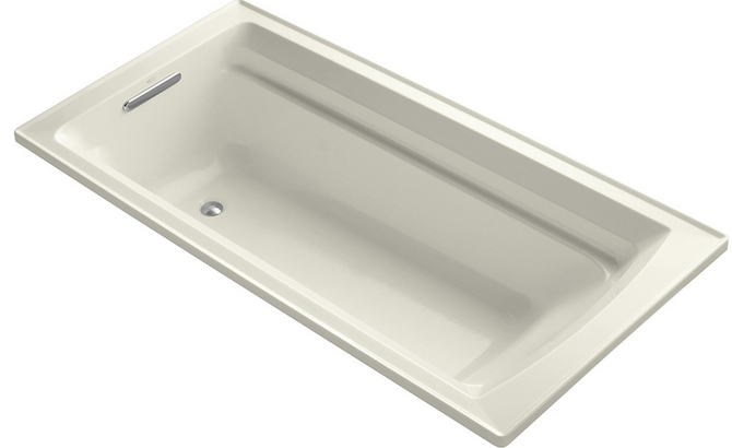 The Longer Size Of This Kohler K 1125 96 Archer 6 Foot Bath Makes It A Good Choice For Many Homes Because Its Can Support Taller People Who Want To
