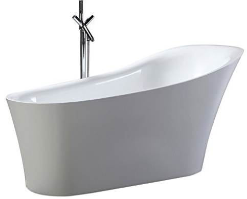 Free standing bath tubs most household cleaning products for Best freestanding tub material