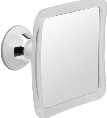 A Fog Resistant Coating Added To The Surface Of This Mirrorvana Fogless Shower  Mirror With Lock Suction Cup Does A Great Job Of Keeping Fog And Steam Off  ...