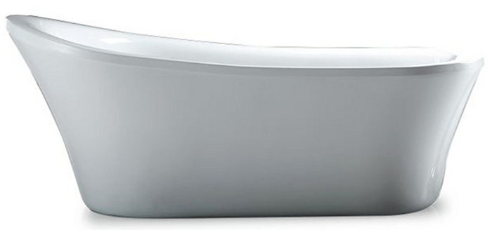 The Rachel 70 Inch Freestanding Acrylic Bathtub Shows That You Donu0027t Have  To Choose Between A Freestanding Tub And An Acrylic Tub Because This One  Uses An ...
