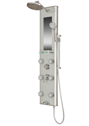 Now That You Read And Looked Over Some Of The Top Shower Panels, Itu0027s Easy  To Understand Why The Pulse 1013 GL Kihei Shower Spa With Silver Glass And  Chrome ...