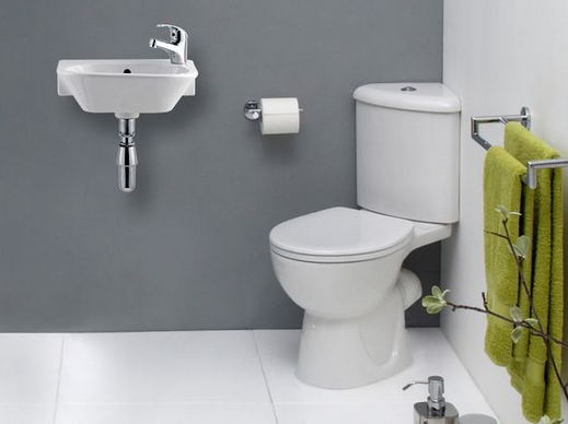 Corner Toilets Help You Create A Bathroom In Closet Or Small Space Beneath Your Stairs As Well Other Smaller Spaces Around Home