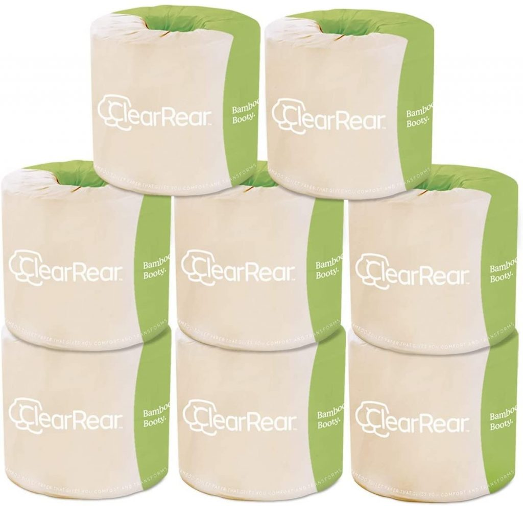 CLEAR REAR Bamboo Booty Premium Toilet Paper