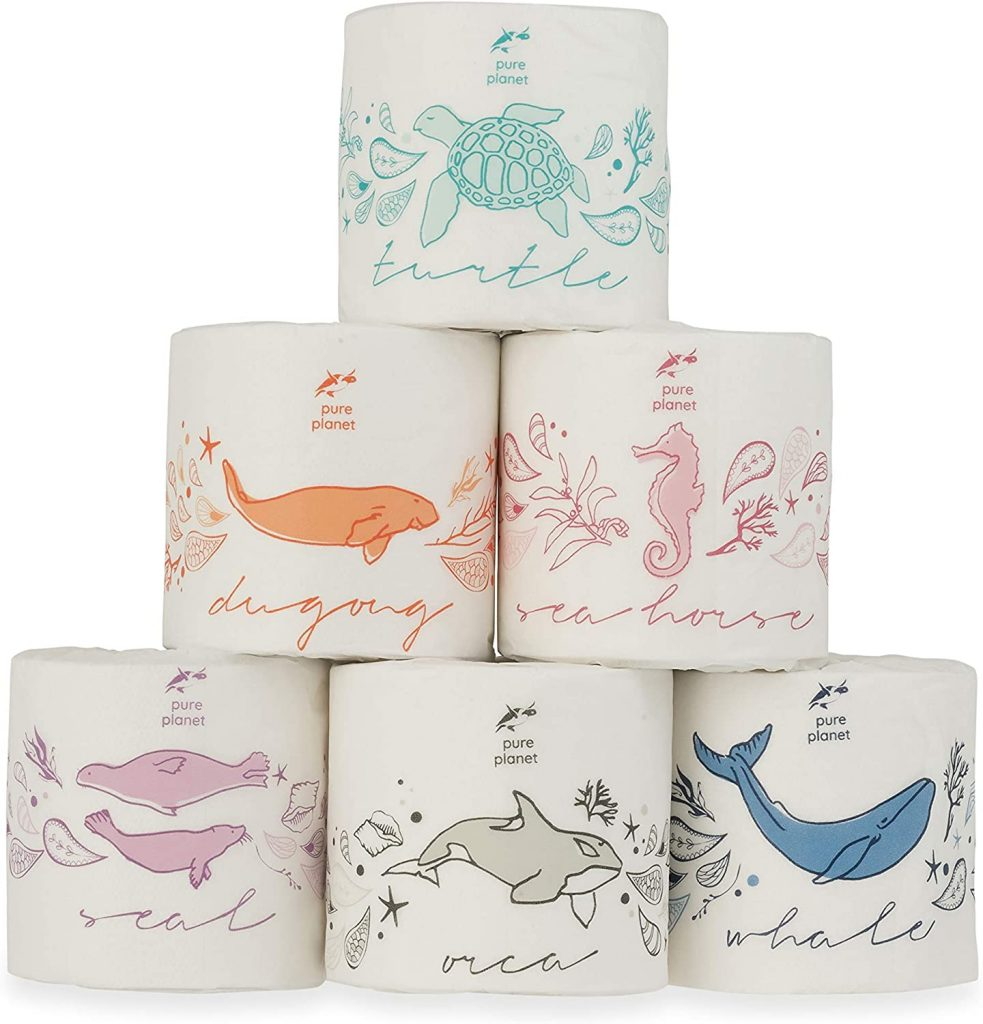Pure Planet Club Toilet Paper Bamboo