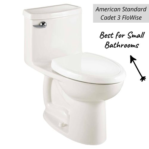 American Standard Compact Cadet 3 FloWise Right Height Elongated One-Piece Toilet